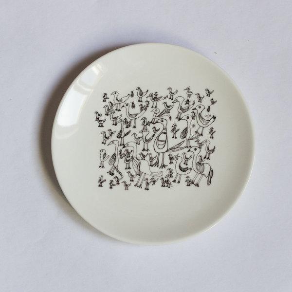 Особая керамика: тарелка «Птички»