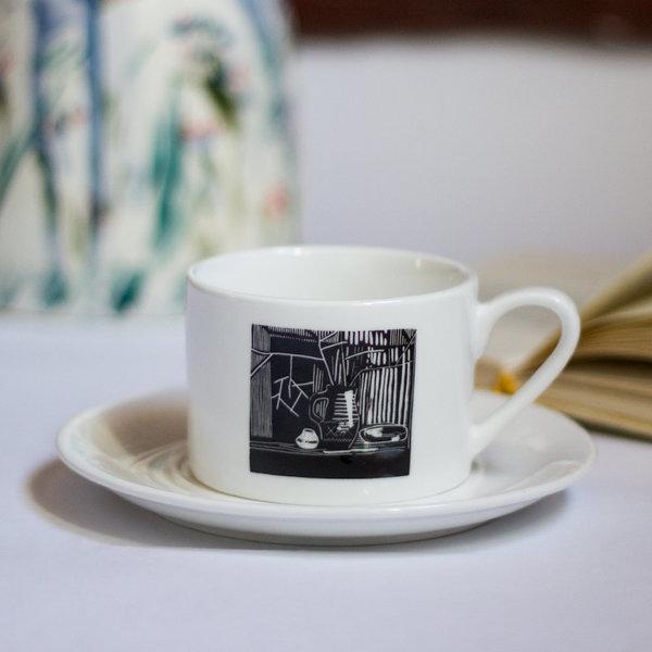 Особая керамика: чайная пара «Натюрморт»