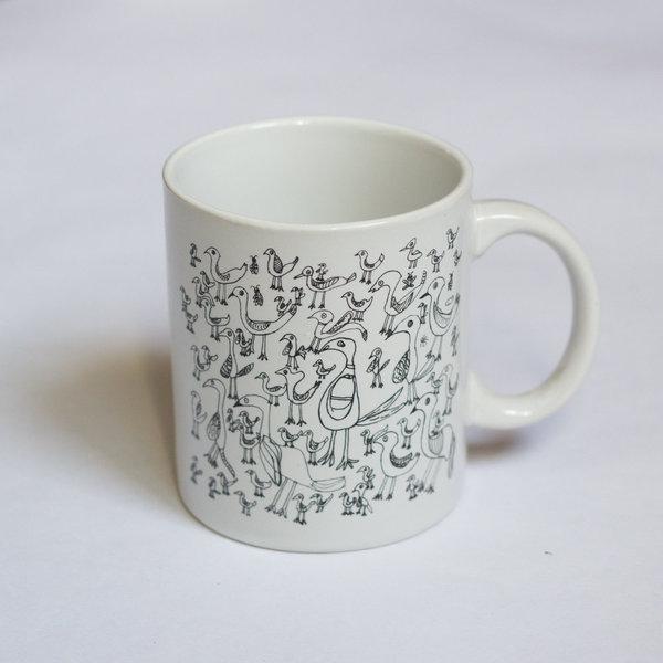Особая керамика: кружка с птичками