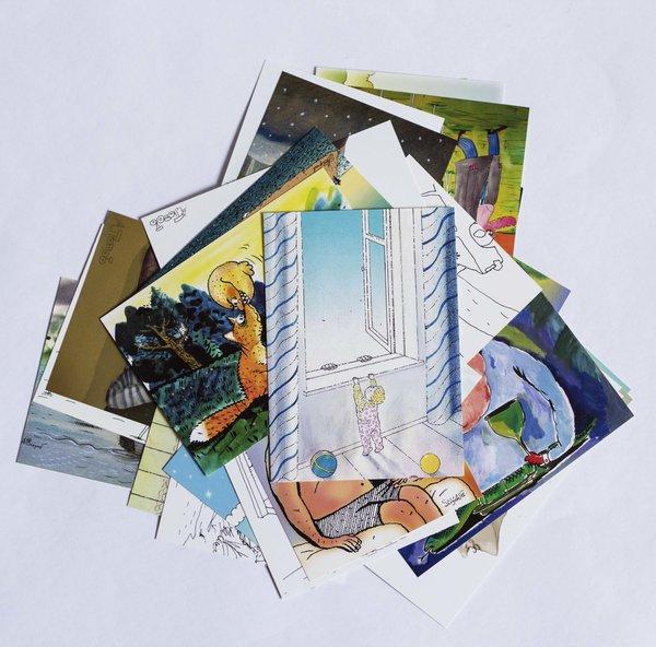 Набор юмористических открыток (30 штук)