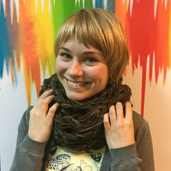 Шарф-снуд от Sasha's knits