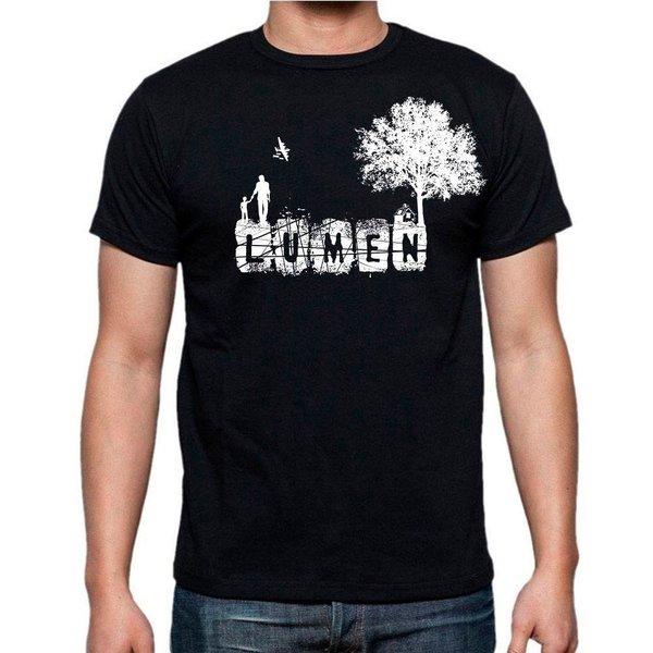 Lumen: черная футболка «Сын. Дом. Дерево»