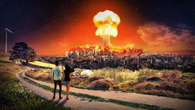 300-летняя Сосна.   Ядерная война 1841 года.  Последствия.  Радиационное заражение .